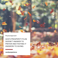 God's Prosperity Plan